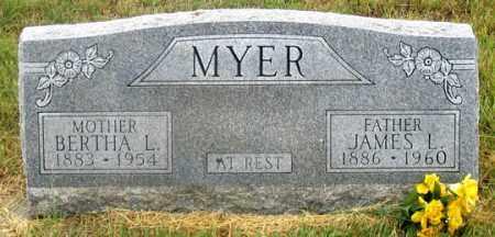 MYER, BERTHA LUREEN - Dundy County, Nebraska   BERTHA LUREEN MYER - Nebraska Gravestone Photos