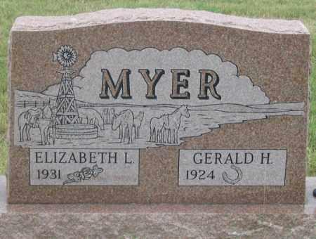 MYER, ELIZABETH L. - Dundy County, Nebraska | ELIZABETH L. MYER - Nebraska Gravestone Photos