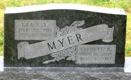 MYER, GRACE E. - Dundy County, Nebraska | GRACE E. MYER - Nebraska Gravestone Photos