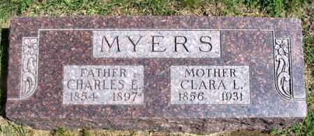 MYERS, CLARA L. - Dundy County, Nebraska | CLARA L. MYERS - Nebraska Gravestone Photos