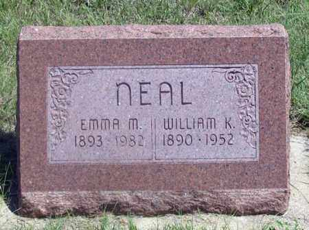 NEAL, WILLIAM K. - Dundy County, Nebraska | WILLIAM K. NEAL - Nebraska Gravestone Photos