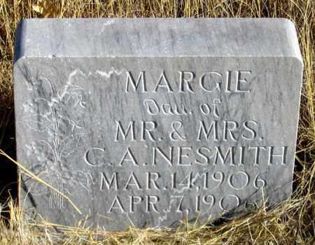 NESMITH, MARGIE - Dundy County, Nebraska   MARGIE NESMITH - Nebraska Gravestone Photos
