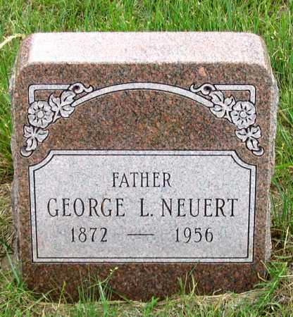 NEUERT, GEORGE L. - Dundy County, Nebraska | GEORGE L. NEUERT - Nebraska Gravestone Photos