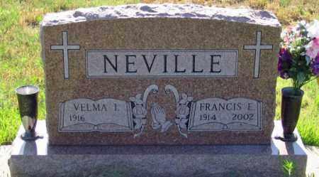NEVILLE, VELMA I. - Dundy County, Nebraska | VELMA I. NEVILLE - Nebraska Gravestone Photos