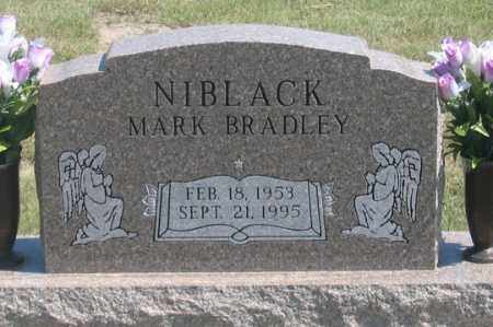 NIBLACK, MARK BRADLEY - Dundy County, Nebraska | MARK BRADLEY NIBLACK - Nebraska Gravestone Photos