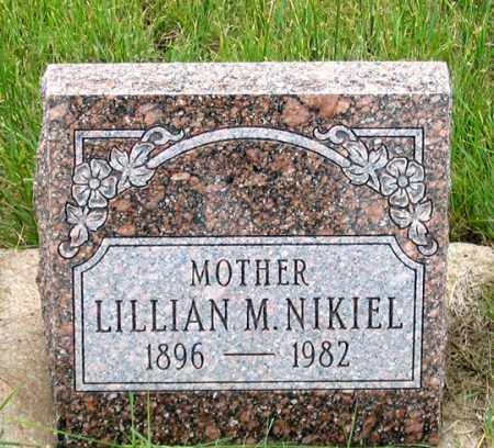 NIKIEL, LILLIAN M. - Dundy County, Nebraska | LILLIAN M. NIKIEL - Nebraska Gravestone Photos