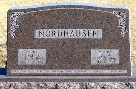 NORDHAUSEN, FRED H. - Dundy County, Nebraska   FRED H. NORDHAUSEN - Nebraska Gravestone Photos