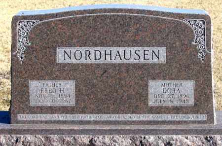 NORDHAUSEN, FRED H. - Dundy County, Nebraska | FRED H. NORDHAUSEN - Nebraska Gravestone Photos