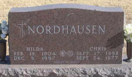 NORDHAUSEN, CHRIS - Dundy County, Nebraska | CHRIS NORDHAUSEN - Nebraska Gravestone Photos