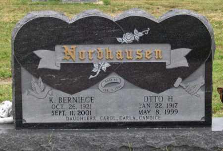 NORDHAUSEN, OTTO H. - Dundy County, Nebraska   OTTO H. NORDHAUSEN - Nebraska Gravestone Photos