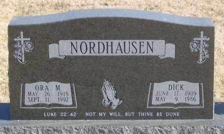 NORDHAUSEN, ORA M. - Dundy County, Nebraska | ORA M. NORDHAUSEN - Nebraska Gravestone Photos