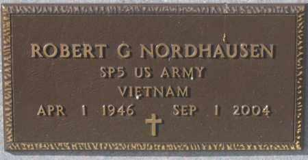 NORDHAUSEN, ROBERT G. - Dundy County, Nebraska | ROBERT G. NORDHAUSEN - Nebraska Gravestone Photos
