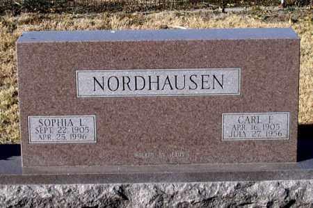 BISCHOFF NORDHAUSEN, SOPHIA L. - Dundy County, Nebraska | SOPHIA L. BISCHOFF NORDHAUSEN - Nebraska Gravestone Photos