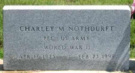 NOTHDURFT, CHARLEY M. - Dundy County, Nebraska | CHARLEY M. NOTHDURFT - Nebraska Gravestone Photos