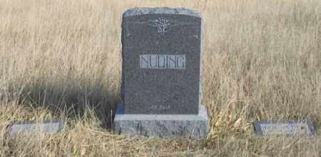 NUDING, JOHN FAMILY GRAVE SITE - Dundy County, Nebraska | JOHN FAMILY GRAVE SITE NUDING - Nebraska Gravestone Photos