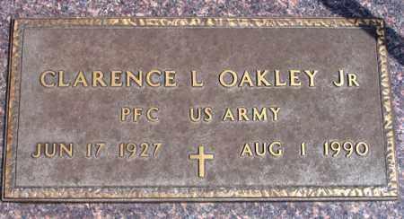 OAKLEY, CLARENCE L. - Dundy County, Nebraska   CLARENCE L. OAKLEY - Nebraska Gravestone Photos