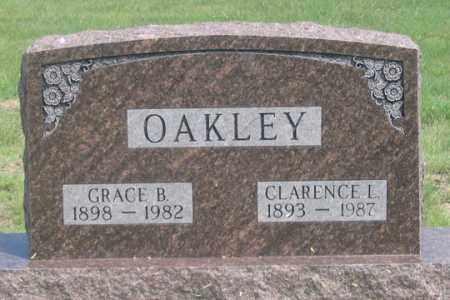 NAFUS OAKLEY, GRACE B. - Dundy County, Nebraska | GRACE B. NAFUS OAKLEY - Nebraska Gravestone Photos