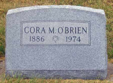 O'BRIEN, CORA M. - Dundy County, Nebraska | CORA M. O'BRIEN - Nebraska Gravestone Photos