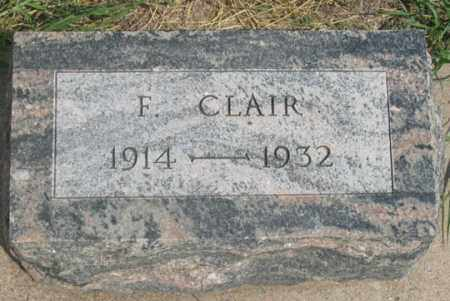 O'BRIEN, FRANCIS CLAIR - Dundy County, Nebraska | FRANCIS CLAIR O'BRIEN - Nebraska Gravestone Photos