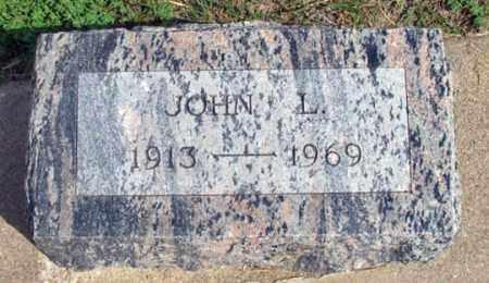 O'BRIEN, JOHN LAWRENCE - Dundy County, Nebraska | JOHN LAWRENCE O'BRIEN - Nebraska Gravestone Photos