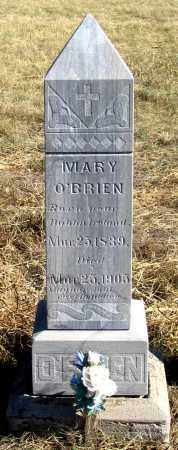 O'BRIEN, MARY - Dundy County, Nebraska   MARY O'BRIEN - Nebraska Gravestone Photos