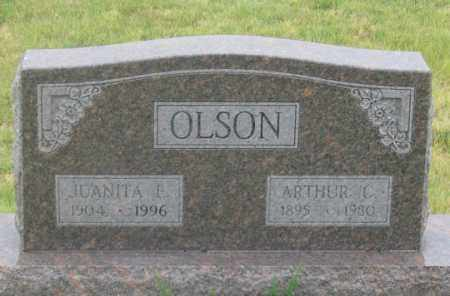 OLSON, ARTHUR CLIFFORD - Dundy County, Nebraska | ARTHUR CLIFFORD OLSON - Nebraska Gravestone Photos
