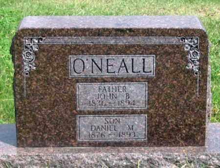 O'NEALL, DANIEL M. - Dundy County, Nebraska | DANIEL M. O'NEALL - Nebraska Gravestone Photos