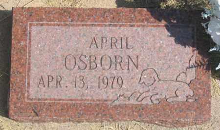 OSBORN, APRIL - Dundy County, Nebraska | APRIL OSBORN - Nebraska Gravestone Photos