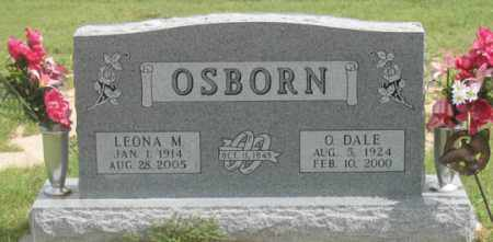 HALL OSBORN, LEONA M. - Dundy County, Nebraska | LEONA M. HALL OSBORN - Nebraska Gravestone Photos