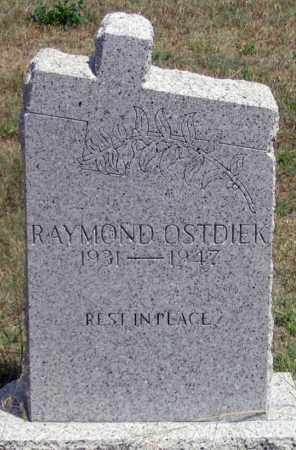 OSTDIEK, RAYMOND - Dundy County, Nebraska | RAYMOND OSTDIEK - Nebraska Gravestone Photos