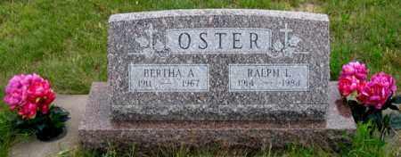 CLARK OSTER, BERTHA A. - Dundy County, Nebraska | BERTHA A. CLARK OSTER - Nebraska Gravestone Photos