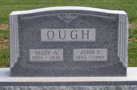 OUGH, MARY A. - Dundy County, Nebraska | MARY A. OUGH - Nebraska Gravestone Photos