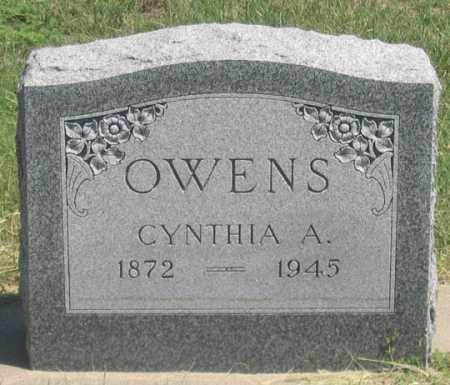 OWENS, CYNTHIA A. - Dundy County, Nebraska   CYNTHIA A. OWENS - Nebraska Gravestone Photos