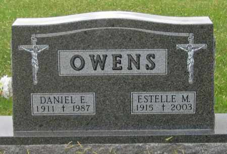 OWENS, ESTELLE M. - Dundy County, Nebraska | ESTELLE M. OWENS - Nebraska Gravestone Photos