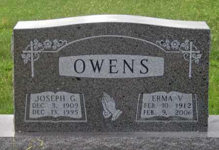 OWENS, ERMA V. - Dundy County, Nebraska | ERMA V. OWENS - Nebraska Gravestone Photos