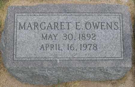 OWENS, MARGARET E. - Dundy County, Nebraska   MARGARET E. OWENS - Nebraska Gravestone Photos