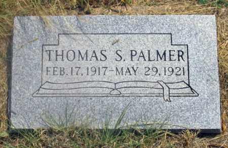 PALMER, THOMAS STANLEY - Dundy County, Nebraska | THOMAS STANLEY PALMER - Nebraska Gravestone Photos