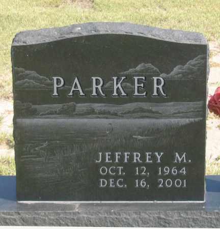 PARKER, JEFFREY M. - Dundy County, Nebraska   JEFFREY M. PARKER - Nebraska Gravestone Photos