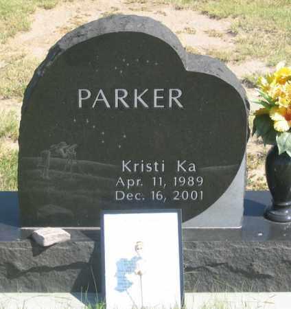 PARKER, KRISTI KA - Dundy County, Nebraska | KRISTI KA PARKER - Nebraska Gravestone Photos