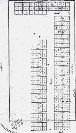 *PARKS CEMETERY, PLOT MAP - Dundy County, Nebraska   PLOT MAP *PARKS CEMETERY - Nebraska Gravestone Photos