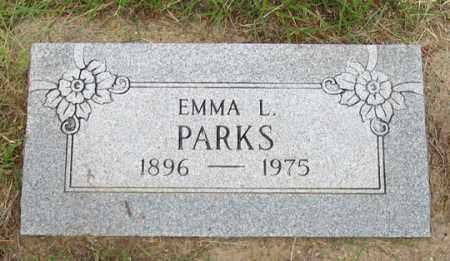 PARKS, EMMA L. - Dundy County, Nebraska   EMMA L. PARKS - Nebraska Gravestone Photos