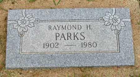 PARKS, RAYMOND H. - Dundy County, Nebraska | RAYMOND H. PARKS - Nebraska Gravestone Photos