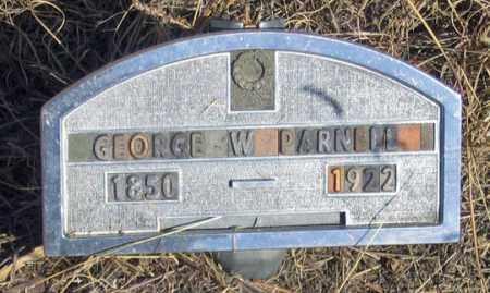 PARNELL, GEORGE W. - Dundy County, Nebraska | GEORGE W. PARNELL - Nebraska Gravestone Photos