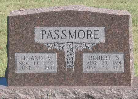 PASSMORE, LELAND M. - Dundy County, Nebraska | LELAND M. PASSMORE - Nebraska Gravestone Photos