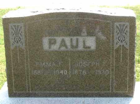 BEHLKE PAUL, EMMA F. - Dundy County, Nebraska | EMMA F. BEHLKE PAUL - Nebraska Gravestone Photos