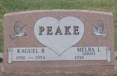 GERDES PEAKE, MELBA L. - Dundy County, Nebraska   MELBA L. GERDES PEAKE - Nebraska Gravestone Photos