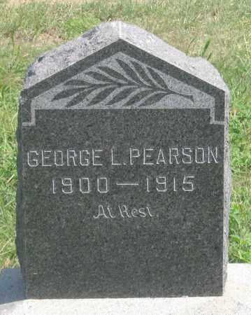 PEARSON, GEORGE L. - Dundy County, Nebraska   GEORGE L. PEARSON - Nebraska Gravestone Photos