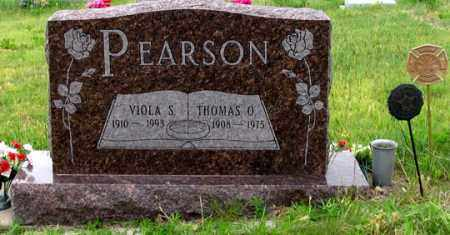 SCHMUTTE PEARSON, VIOLA S. - Dundy County, Nebraska | VIOLA S. SCHMUTTE PEARSON - Nebraska Gravestone Photos