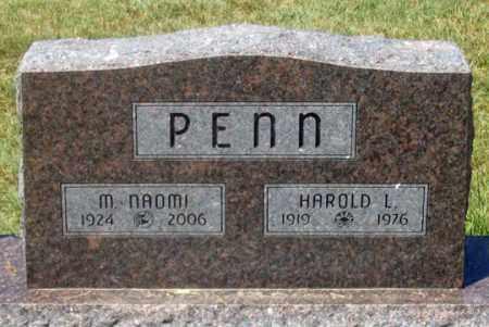 PENN, M. NAOMI - Dundy County, Nebraska | M. NAOMI PENN - Nebraska Gravestone Photos