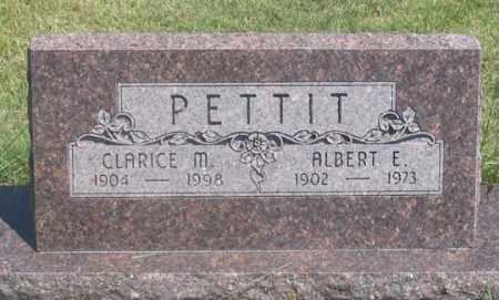 COMPTON PETTIT, CLARICE M. - Dundy County, Nebraska | CLARICE M. COMPTON PETTIT - Nebraska Gravestone Photos